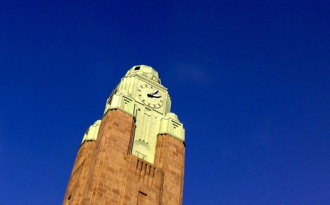photo credit: Helsinki Central Railway Station Clock Tower via photopin (license)