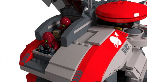 photo credit: Space Marines Bulwark Gunship: Cockpit Open via photopin (license)