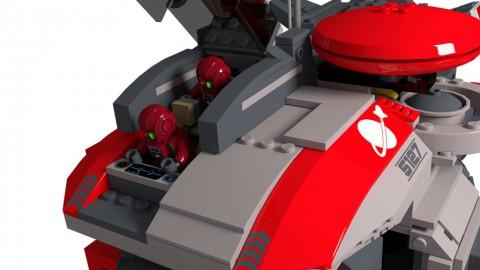 photo credit: Space Marines Bulwark Gunship: Cockpit Open via photopin (license)