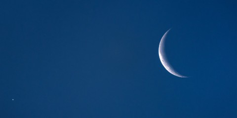 photo credit: Venus and the Moon via photopin (license)