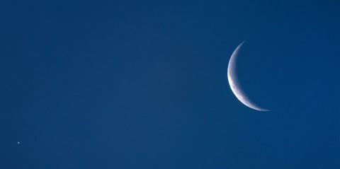 photo credit: Venus and the Moon via photopin (license)