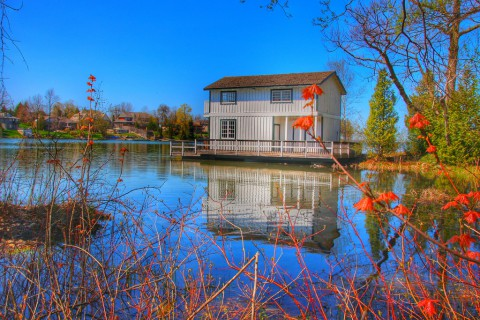 photo credit: Orillia Ontario Canada ~ Leacock Museum ~ Boat House ~ Heritage Site via photopin (license)