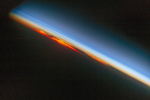 photo credit: NASA's Marshall Space Flight Center Fiery South Atlantic Sunset via photopin (license)