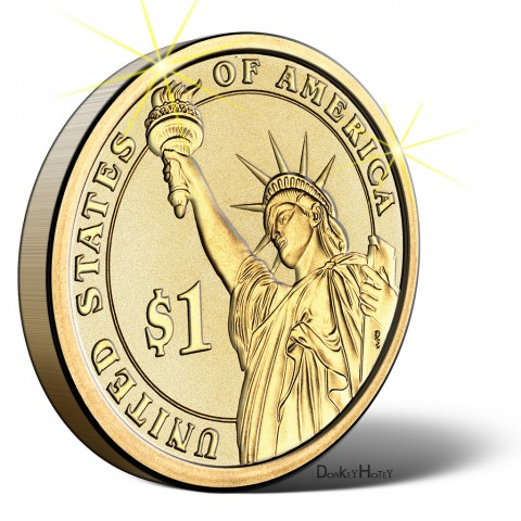photo credit: DonkeyHotey US Dollar Coin - Illustration via photopin (license)